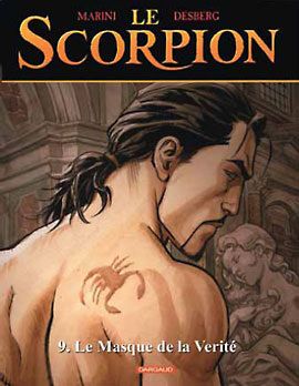Preview BD: Scorpion # 9 de Marini & Desberg (Editeur BD: Dargaud)